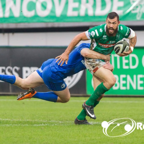 Benetton Rugby all'esordio Europeo con Leinster