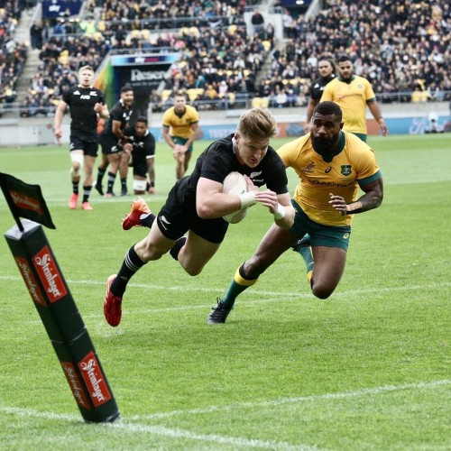 Bledisloe Cup: All Blacks - Australia 16-16 [VIDEO]