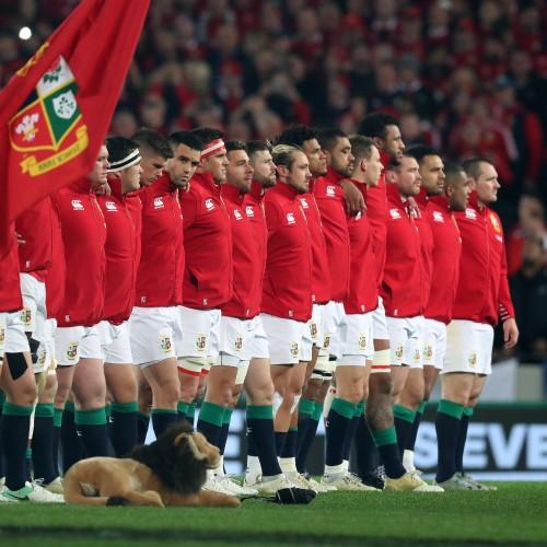 British & Irish Lions: i 37 giocatori per il Tour in Sudafrica
