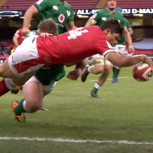 Galles - Irlanda 21-16 [VIDEO]
