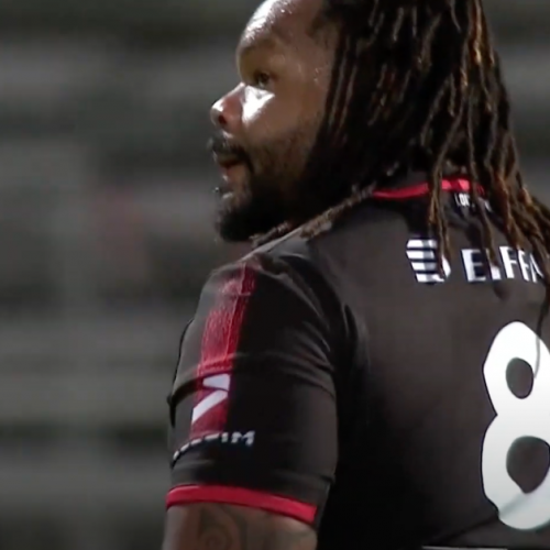Mathieu Bastareaud: i giorni da numero 8 [VIDEO]