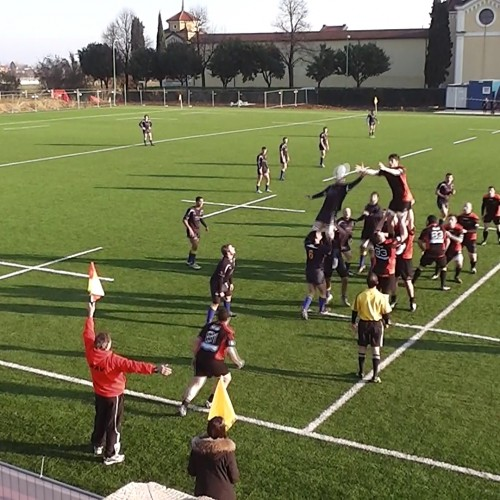 Rugby Serie C: Rugby Alto Vicentino vs Rugby Belluno  6- 61 (p.t. 6-33)