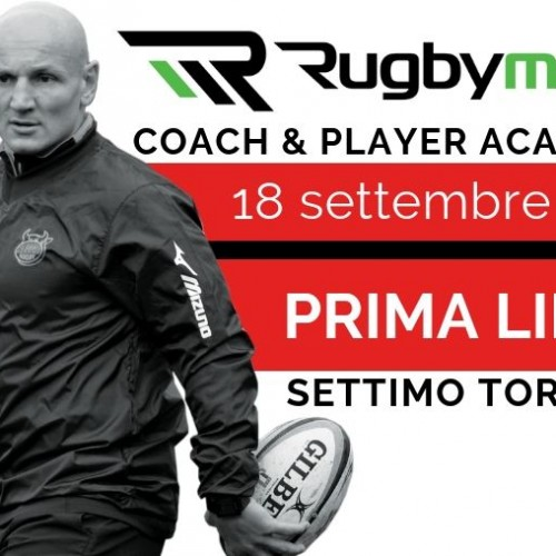Rugbymeet Player Academy: Carlo Festuccia forma prime linee