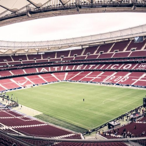 Spagna-Classic All Blacks in campo al Wanda Metropolitano di Madrid