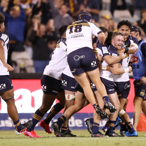 Super Rugby AU: il missile di Lonergan da oltre 50 metri [VIDEO]