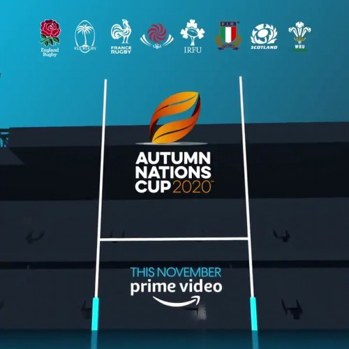UK: Autumn Nations Cup su Amazon Prime Video